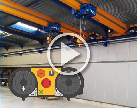 Master-Master for Overhead Cranes